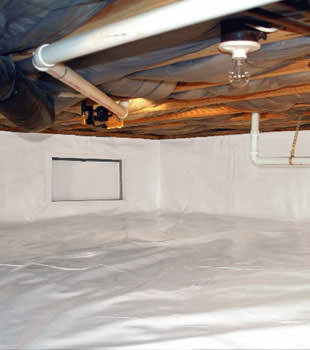 crawl space repair system in Sandston