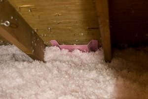 New Attic Insulation installed in Lanexa
