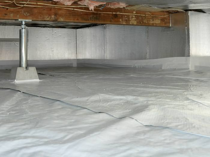 Crawl space sealing in mechanicsville midlothian glen for Insulate your home for free