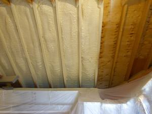 Spray Foam Insulation Installed In Newport News