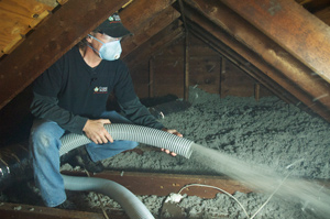 Attic Insulation installed in Midlothian
