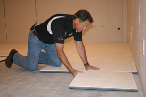 Insulated Subfloor Installation Richmond - Dry barrier subfloor