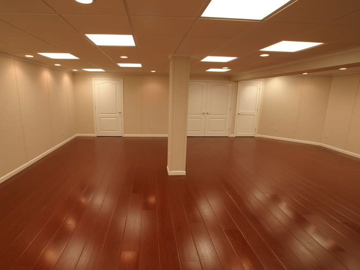Wood Basement Flooring Greater Richmond