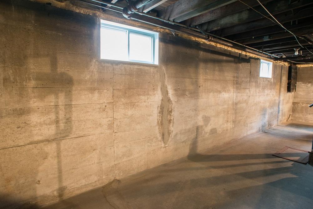 Basement walls after Foamax installation & Foamax Basement Wall Insulation Panel Installation Richmond